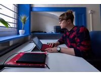 Affordable flexible Coworking / Shared office space in Notting Hill - desk space from £65 p/m + VAT