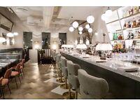 Bartender – Restaurant in Covent Garden