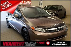 2012 Honda Civic LX MAG BLUETOOTH A/C
