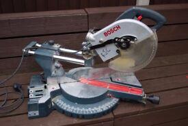 Bosch GCM 10 S pro mitre chop saw (Spares or repair)