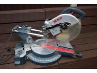Bosch GCM 10 S pro mitre chop saw (Spares or repair)