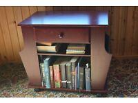 Wooden Book & Magazine rack