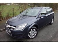2010 Plate Vauxhall Astra 1.3 CDTI, DESIGN, 6 SPEED, Half Leather, 4 Elec Windows, 1 OWNER FROM NEW