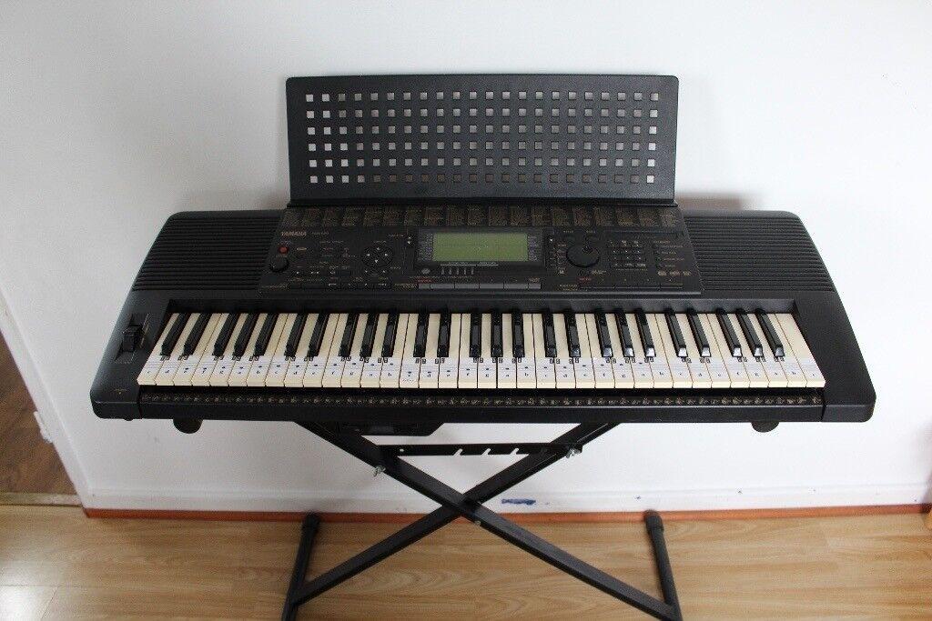 L K Yamaha Psr 620 61 Note Portable Keyboard Workstation