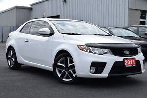 2011 Kia Forte SX | LEATHER | MANUAL | SUNROOF