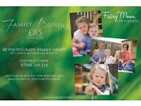 Family Photography DEAL! - Photoshoot & 40 High Quality Photographs for only £85