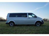 Volkswagen Transporter T5 Campervan - Silver, Long Wheel Base, T30, 1.9L, 102 BHP