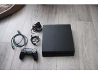 Sony Playstation 4 500GB Controller Wires CUH 1216a (banned from multiplayer)
