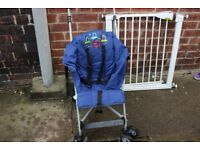 Baby bundle - clothes, toys, sterilizer, stroller, safety gates.