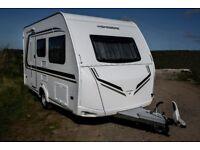 Weinsberg CaraOne 400LK 5 berth touring caravan with 3 bunk beds