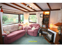 Holiday Home/Chalet For Sale: Builth Wells (Caer Beris Holiday Park)