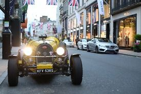 Vintage Bugatti 1927 Replica Car Hire - Weddings, Prom, Events, Product Launches - London & Herts
