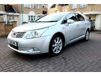 TOYOTA AVENSIS 2.2 DIESEL TR NAV [150] AUTOMATIC 4 DOOR SALOON HPI CLEAR 3 KEYS EXCELLENT CONDITION