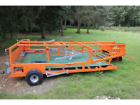 RitchiesCooks high capacity belted bale sledge