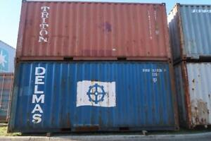 20' Standard Shipping Containers