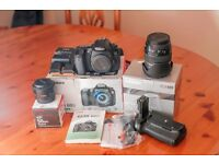 Canon EOS 60D 18.0MP Digital SLR Camera + Tamron 17-50 VC + Canon 50mm f/1.8