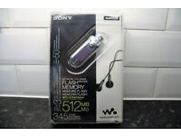 Rare hard to find - Sony NW-E405/LMC Network Walkman Flash Memory MP3