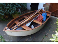 WOODEN DINGY