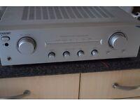 SONY STEREO INTEGRATDE AMP 160 WATTS CAN BE SEEN WORKING