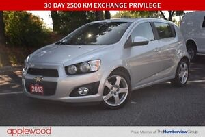 2013 Chevrolet Sonic LTZ, One owner, Leatherette, 6 Speed Manual