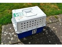 Cat international carrier cage,used once,all clean £30 ono