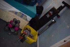Job Lot Of Gym Equipment