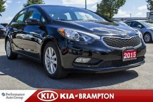 2015 Kia Forte 1.8L LX+. ROOF. HTD SEATS. BLUETOOTH. CRUISE CTRL