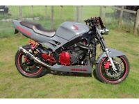 For sale Custom Street 600 CBRF Honda Motorbike 1997 been rebuilt from front to back