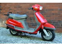 YAMAHA 125 SCOOTER - FULL MOT - ONLY 5103 MILES - 4 STROKE - EXCELLENT CONDITION
