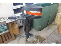 4hp mariner longshaft.f/n/r gears,serviced and running as it should