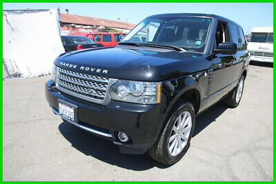 2011 Land Rover Range Rover Supercharged (C) 2011 Land Rover Range Rover 4WD Supercharged w/ Smog Certificate NO RESERVE