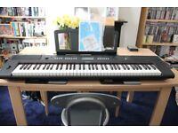 Yamaha Piaggero NP-V60 Keyboard (76-note 'box key' Graded Soft Touch keyboard)