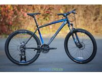 Saracen Tufftrax Disc 2016 ex-hire Mountain Bikes - excellent condition, very light use