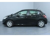 2013 PEUGEOT 208 1.4 HDi FAP ACCESS + 5DR LONG MOT ZERO ROAD TAX