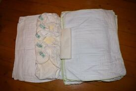 Set of washable nappies - Earthwise etc.