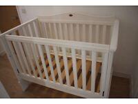 Boori Paddington 3 in 1 Cot Bed - White