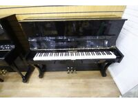 Debussy Upright Black Polyester Piano at Sherwood Phoenix Pianos