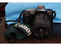 Canon EOS 1000 Film Camera + Tamron 80-210mm F4.5-5.6 Lens