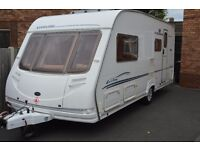 STERLING ECCLES EMERALD 4 BERTH CARAVAN 2004 WITH AWNING