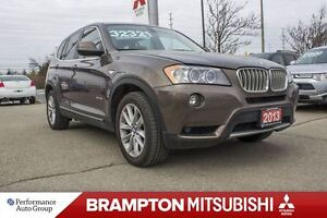 2013 BMW X3 |ONE OWNER|ACCIDENT FREE|SUNROOF|NAVI