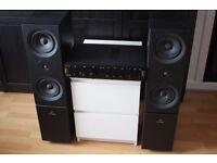 ARCAM DELTA 290 AMPLIFIER + LINN KEOSA SPEAKERS