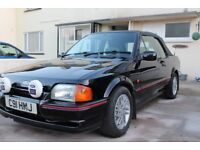 1990 Ford Escort Xr3i Cabriolet (One Previous Owner)(72627miles)