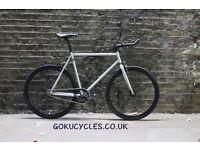 SALE ! GOKU cycles Steel Frame Single speed road bike TRACK bike fixed gear bike racing bike 1Q