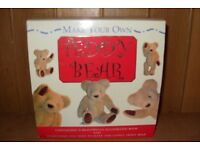 Make your own Teddy Bear, still in box, new