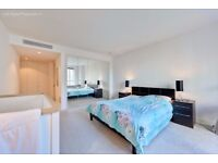 A two bedroom, two bathroom luxury apartment with stunning views of the River Thames