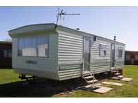 Six berth caravan for hire / for let on Mablethorpe Chalet Park (North East Lincolnshire Coast)