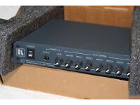 Kramer VA-15xl 6-Channel Balanced Audio Mixer. Excellent Condition.