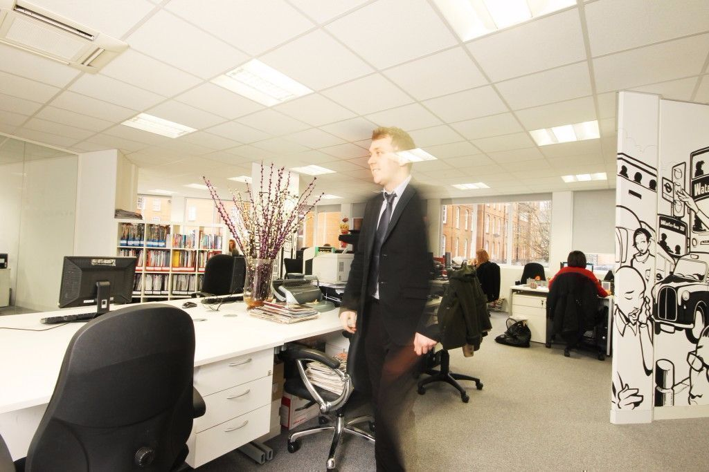 Cost Effective Desk Rates in London Waterloo Rd SE1 from £405 pcm