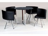Spectrum Compact Dining Set + 4 chairs