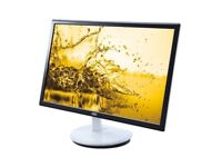 Monitor LED AOC E2243FW2 21.5 inch 2 ms black white